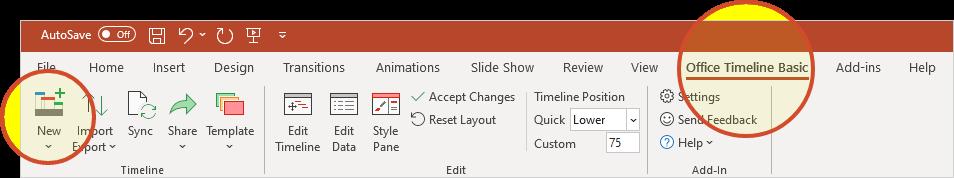 Office Timeline: Excel Timeline How To