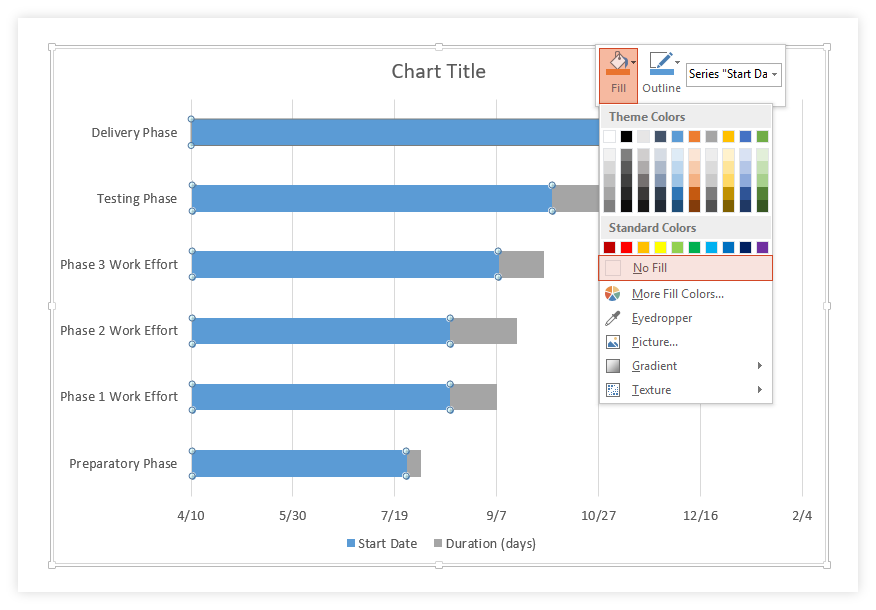 How To Make A Gantt Chart In Powerpoint