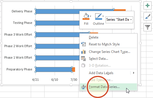 Office Timeline Gantt Chart Excel Step By Step Visual Tutorial