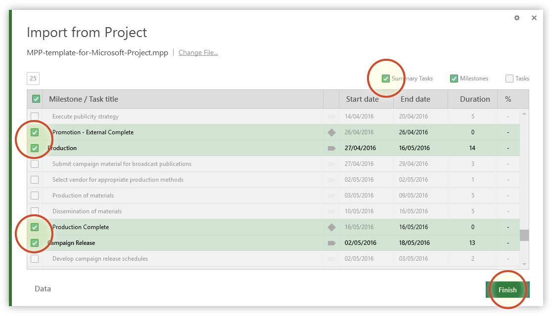 Microsoft Project Gantt Chart Tutorial + Template + Export