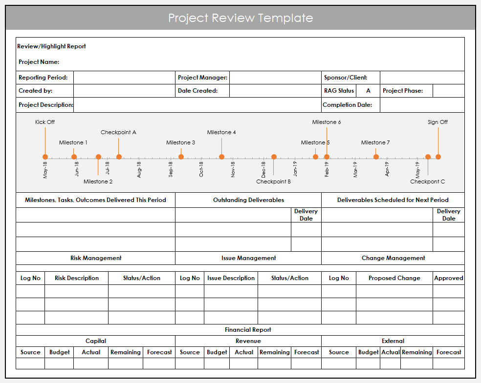 Excel Project Review
