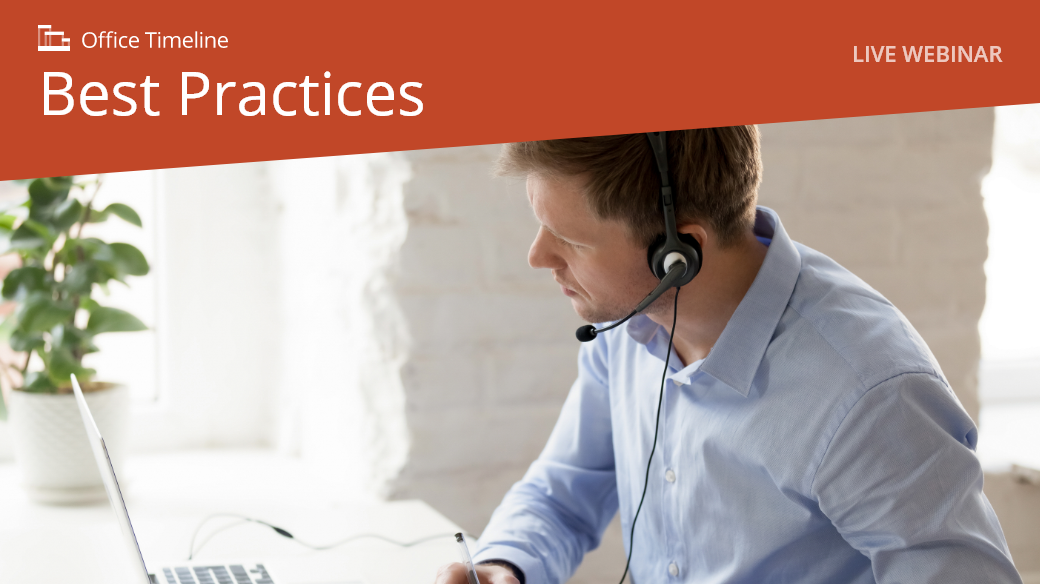 Live webinar Office Timeline Best Practices