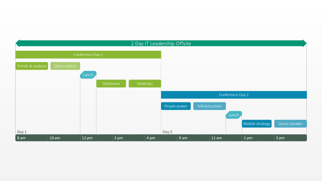 Office Timeline: Meeting Schedule Template