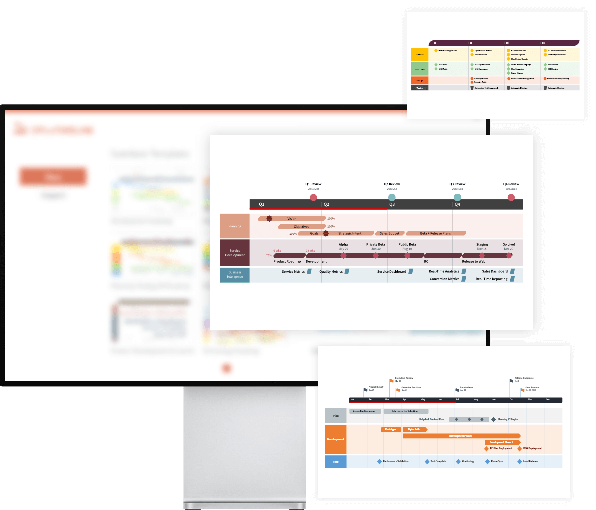 PowerPoint roadmap templates